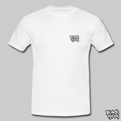 Tee shirt logo BlackHook (White color)