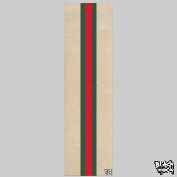 Stripes Red Green Grip Transparent